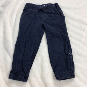 Gymboree Navy Blue Elastic Waist Sweat Pants